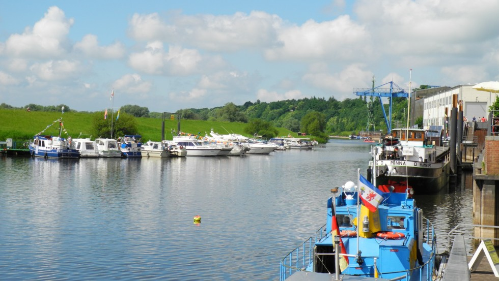 Boizenburger Hafen © Stadtinformation Boizenburg/Elbe