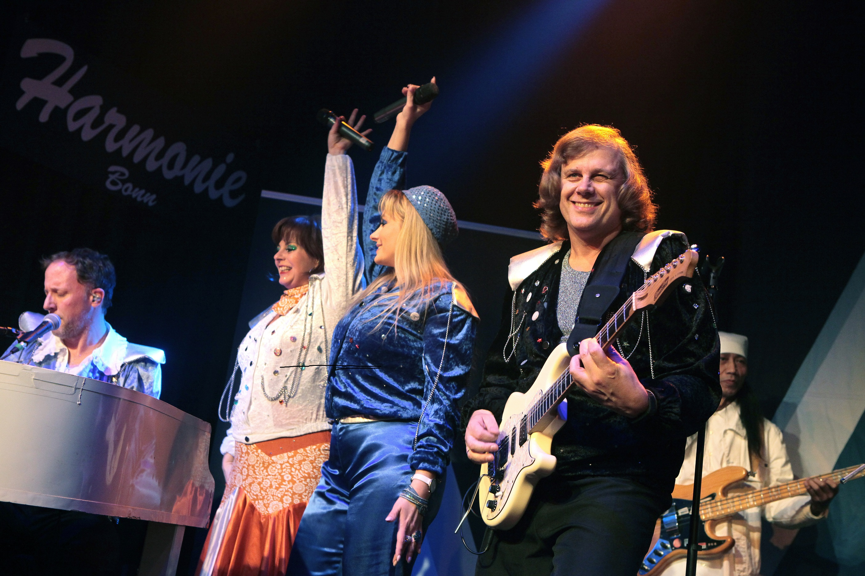 Band Abba Review © Steve Stevens, Bonn