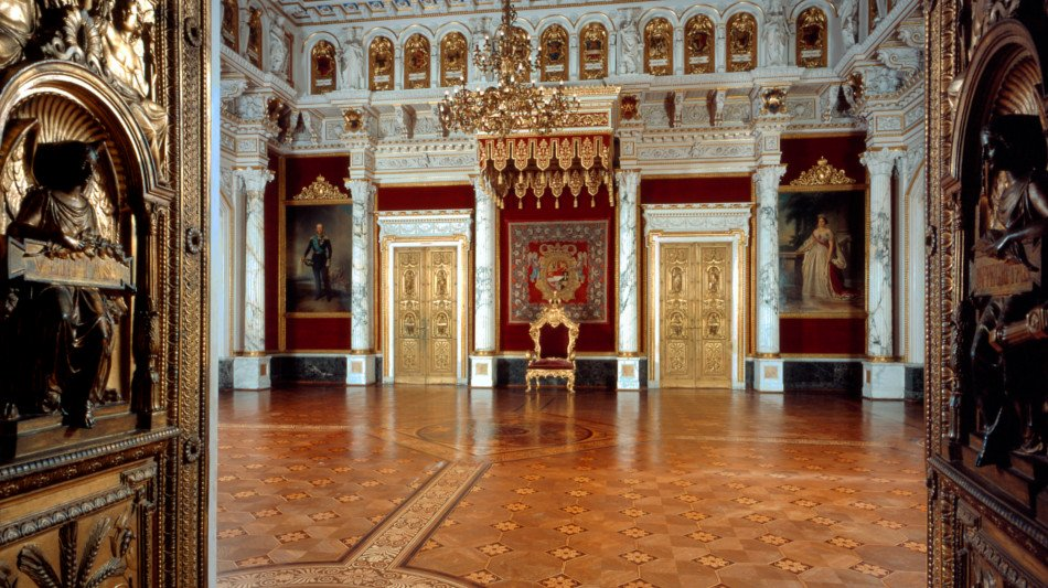 The throne room   © © Lothar Steiner © Staatliches Museum Schwerin