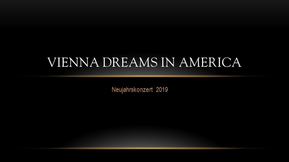Vienna Dreams in America ©