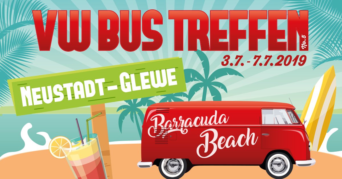vwbustreffen-2019 © Barracuda Beach