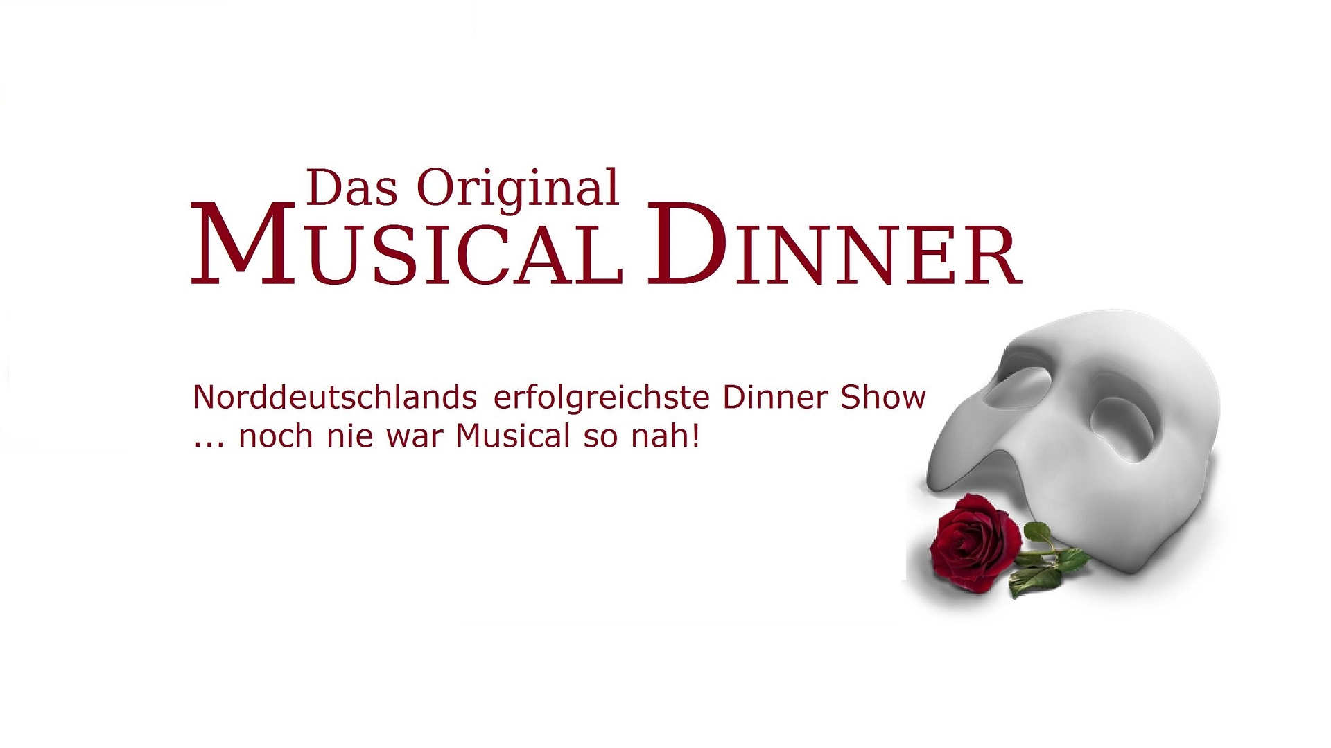 Musical Dinner (Das Original) © glamour-events.com