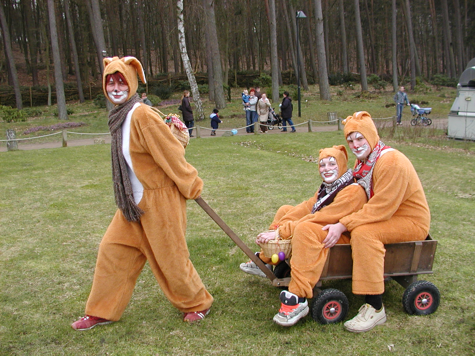 Osterfest im Wildpark-MV