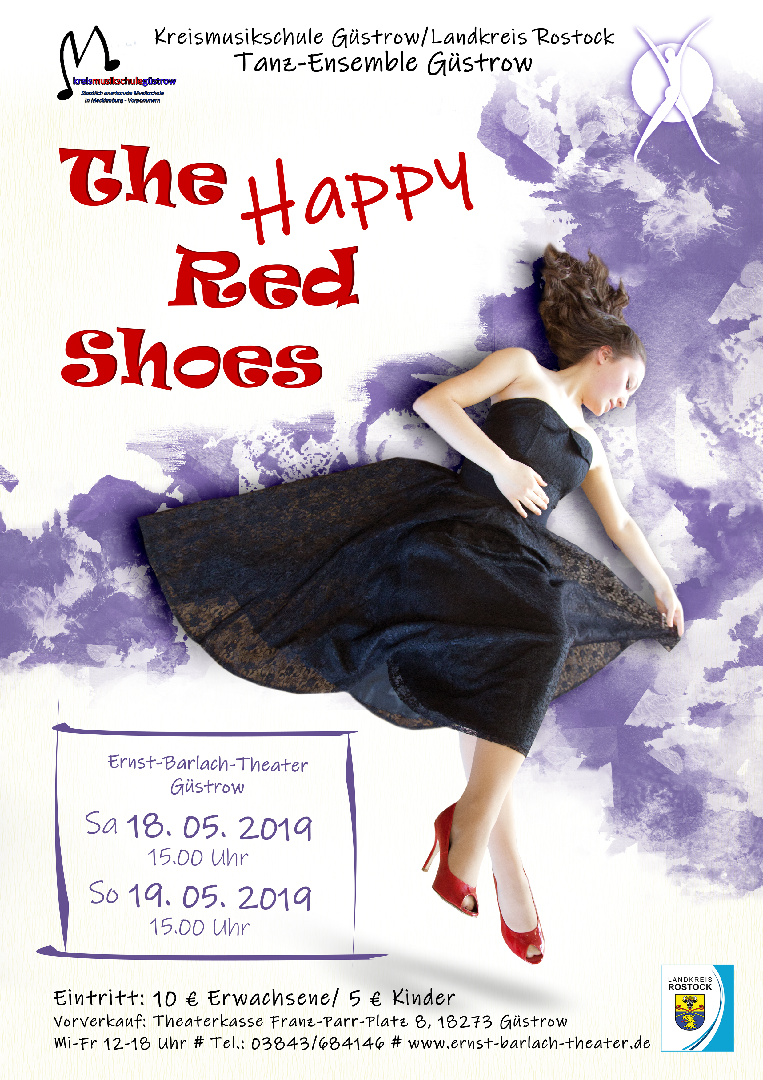 The Happy Red shoes