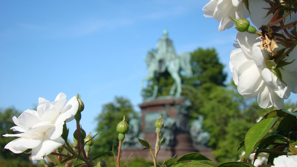 Equestrian monument of Friedrich Franz II