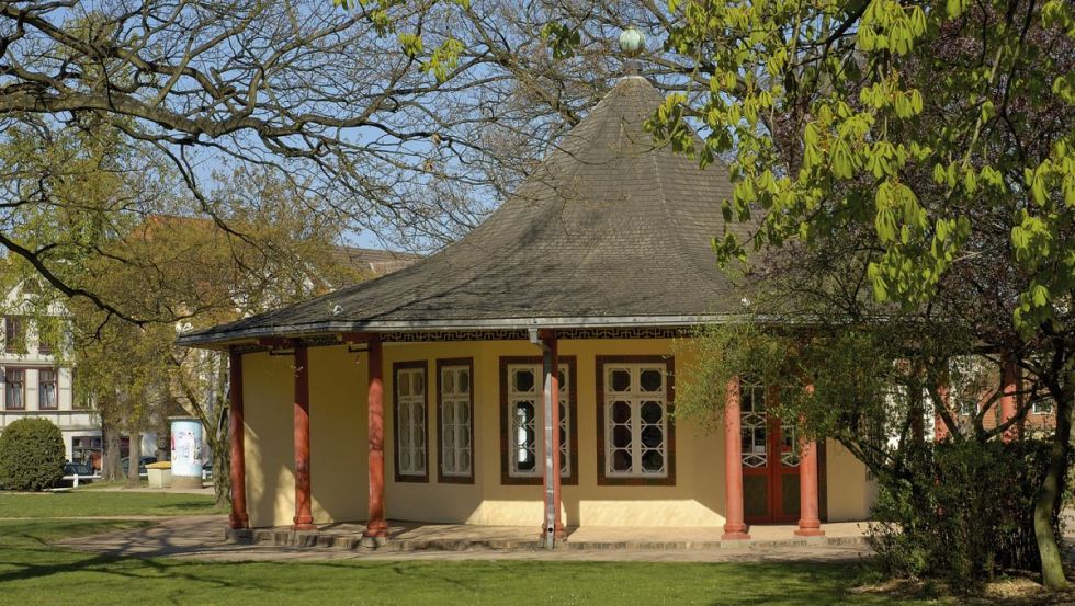 Roter Pavillon  © Tourist-Information Bad Doberan-Heiligendamm