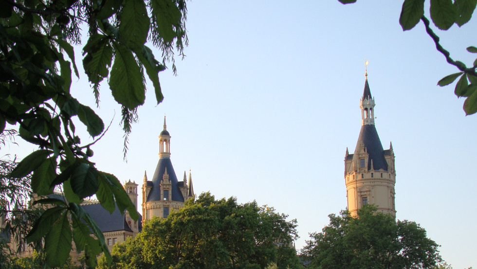 Fairytale - Pinnacles and Towers of Schwerin Castle © © Tourismusverband Mecklenburg-Schwerin